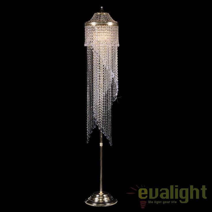 Lampadar, lampa de podea LUX cristal Bohemia S45 012/05/3, Lampadare Cristal, Corpuri de iluminat, lustre, aplice, veioze, lampadare, plafoniere. Mobilier si decoratiuni, oglinzi, scaune, fotolii. Oferte speciale iluminat interior si exterior. Livram in toata tara.  a