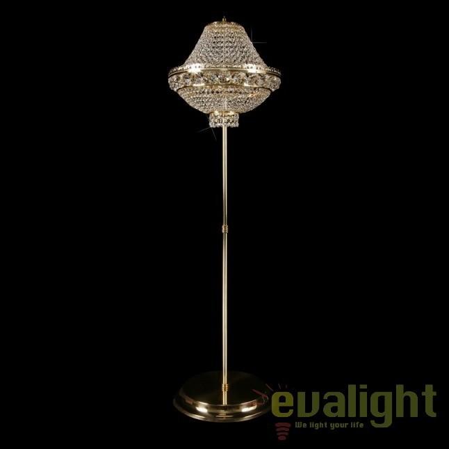 Lampadar, lampa de podea LUX cristal Bohemia S45 265/03/6, Lampadare Cristal, Corpuri de iluminat, lustre, aplice, veioze, lampadare, plafoniere. Mobilier si decoratiuni, oglinzi, scaune, fotolii. Oferte speciale iluminat interior si exterior. Livram in toata tara.  a