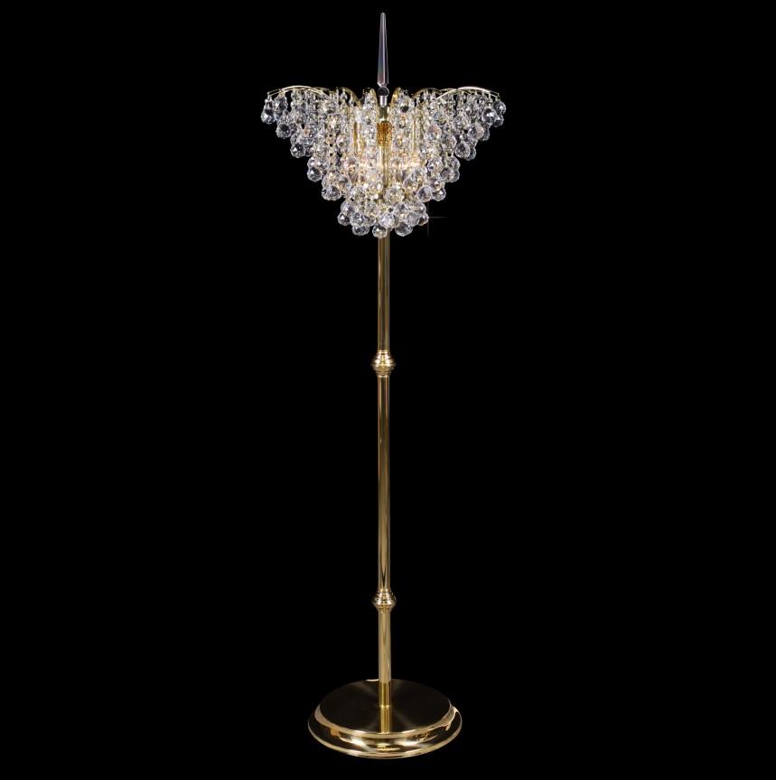 Lampadar, lampa de podea LUX cristal Bohemia S45 555/06/4, Lampadare Cristal, Corpuri de iluminat, lustre, aplice, veioze, lampadare, plafoniere. Mobilier si decoratiuni, oglinzi, scaune, fotolii. Oferte speciale iluminat interior si exterior. Livram in toata tara.  a