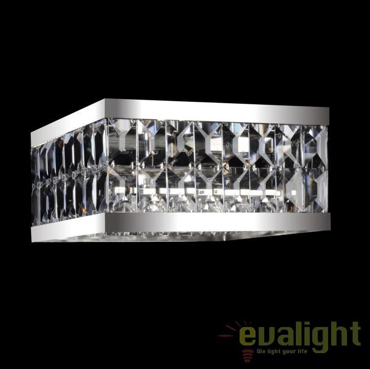 Plafoniera cristal Bohemia dim.42x42cm, L17 223/09/5-O; Ni, Plafoniere Cristal Bohemia, Corpuri de iluminat, lustre, aplice, veioze, lampadare, plafoniere. Mobilier si decoratiuni, oglinzi, scaune, fotolii. Oferte speciale iluminat interior si exterior. Livram in toata tara.  a