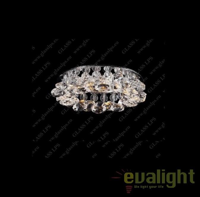 Spot tavan fals cristal Bohemia L17 560/01/6, 4-O, Spoturi tavan fals Cristal, Corpuri de iluminat, lustre, aplice, veioze, lampadare, plafoniere. Mobilier si decoratiuni, oglinzi, scaune, fotolii. Oferte speciale iluminat interior si exterior. Livram in toata tara.  a