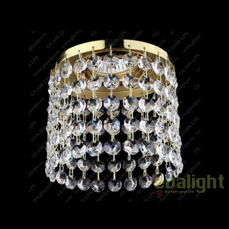 Spot tavan fals cristal Bohemia, L17 565/01/6, Spoturi tavan fals Cristal, Corpuri de iluminat, lustre, aplice, veioze, lampadare, plafoniere. Mobilier si decoratiuni, oglinzi, scaune, fotolii. Oferte speciale iluminat interior si exterior. Livram in toata tara.  a