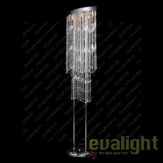 Lampadar, lampa de podea cristal Bohemia S47 010/07/3, Lampadare Cristal, Corpuri de iluminat, lustre, aplice, veioze, lampadare, plafoniere. Mobilier si decoratiuni, oglinzi, scaune, fotolii. Oferte speciale iluminat interior si exterior. Livram in toata tara.  a