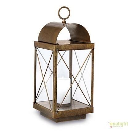 Lampa de podea fabricata manual, IP65, Lanterne 265.11, Lampi de exterior portabile , Corpuri de iluminat, lustre, aplice, veioze, lampadare, plafoniere. Mobilier si decoratiuni, oglinzi, scaune, fotolii. Oferte speciale iluminat interior si exterior. Livram in toata tara.  a