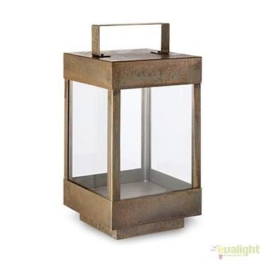 Lampa de podea fabricata manual, IP65, Lanterne 266.01, Lampi de exterior portabile , Corpuri de iluminat, lustre, aplice, veioze, lampadare, plafoniere. Mobilier si decoratiuni, oglinzi, scaune, fotolii. Oferte speciale iluminat interior si exterior. Livram in toata tara.  a