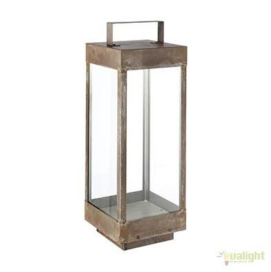 Lampa de podea fabricata manual, IP65, Lanterne 266.02, Lampi de exterior portabile , Corpuri de iluminat, lustre, aplice, veioze, lampadare, plafoniere. Mobilier si decoratiuni, oglinzi, scaune, fotolii. Oferte speciale iluminat interior si exterior. Livram in toata tara.  a