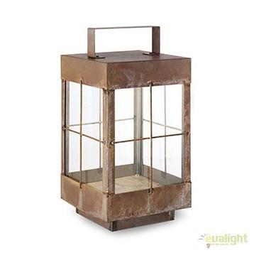 Lampa de podea fabricata manual, IP65, Lanterne 266.11, Lampi de exterior portabile , Corpuri de iluminat, lustre, aplice, veioze, lampadare, plafoniere. Mobilier si decoratiuni, oglinzi, scaune, fotolii. Oferte speciale iluminat interior si exterior. Livram in toata tara.  a