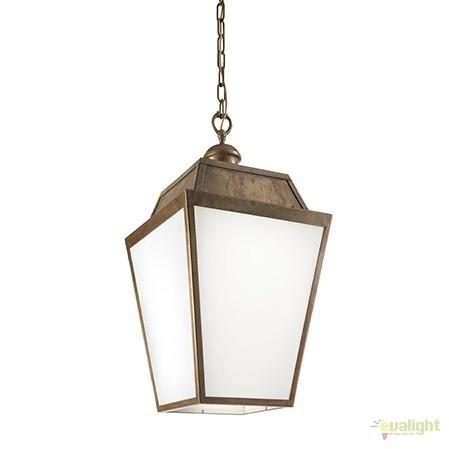Pendul de exterior cu protectie IP43, Quadro 262.50, Lustre, Pendule suspendate de exterior, Corpuri de iluminat, lustre, aplice a