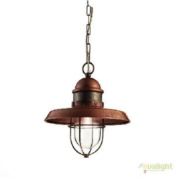Pendul de exterior, diam.30cm, IP40 Patio 225.07.OR, Lustre, Pendule suspendate de exterior, Corpuri de iluminat, lustre, aplice a