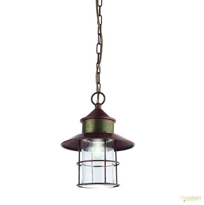 Pendul de exterior, diam.22,5cm, IP40 Granaio 246.07.OR, Lustre, Pendule suspendate de exterior, Corpuri de iluminat, lustre, aplice a