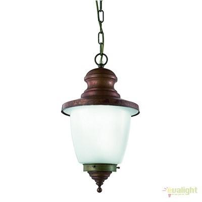 Pendul de exterior, diam.26cm, IP23, Venezia 248.08.OR, Lustre, Pendule suspendate de exterior, Corpuri de iluminat, lustre, aplice a