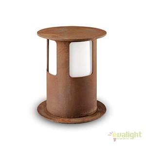 Stalp de exterior modern inaltime 28cm cu protectie IP65, Porto 258.01.FF, Stalpi de iluminat exterior mici si medii , Corpuri de iluminat, lustre, aplice a