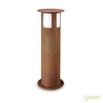Stalp de exterior modern inaltime 62cm cu protectie IP65, Porto 258.02.FF, Stalpi de iluminat exterior mici si medii , Corpuri de iluminat, lustre, aplice a