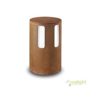 Stalp de exterior modern inaltime 28cm cu protectie IP65, Porto 259.01.FF, Stalpi de iluminat exterior mici si medii , Corpuri de iluminat, lustre, aplice a