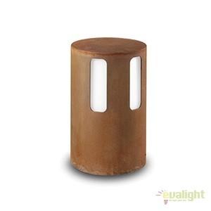Stalp de exterior modern inaltime 28cm cu protectie IP65, LED Porto 259.21.FF, Stalpi de iluminat exterior mici si medii , Corpuri de iluminat, lustre, aplice a