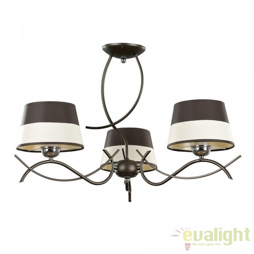 Candelabru cu 3 brate, DIVERA 3 917/3 EMB, Candelabre, Lustre moderne, Corpuri de iluminat, lustre, aplice a