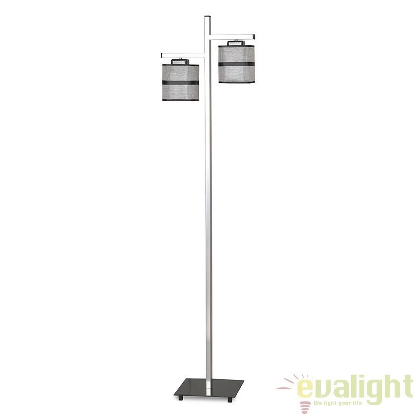 Lampadar, lampa de podea H-152cm, REMONDIS LP2 SILVER 900/LP2 EMB, Magazin, Corpuri de iluminat, lustre, aplice, veioze, lampadare, plafoniere. Mobilier si decoratiuni, oglinzi, scaune, fotolii. Oferte speciale iluminat interior si exterior. Livram in toata tara.  a