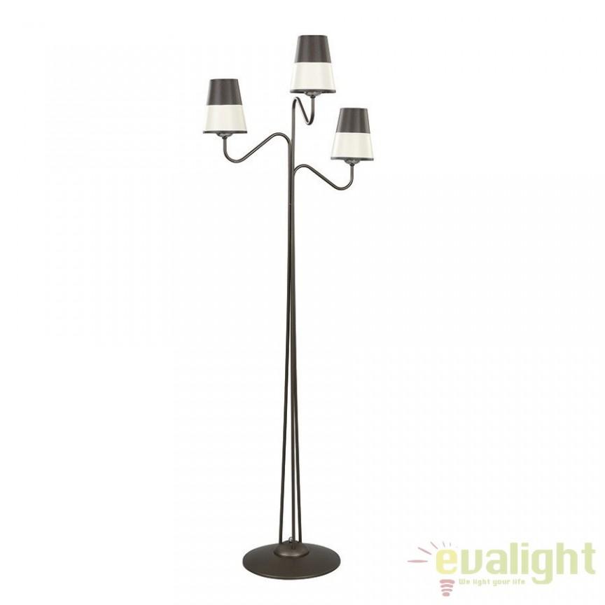 Lampadar, lampa de podea tripla, H-162cm, BLACCO LP3 830/LP3 EMB, Lampadare clasice, Corpuri de iluminat, lustre, aplice a