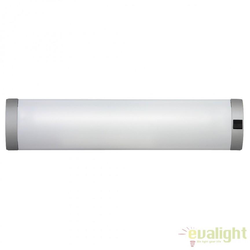 Aplica de perete, mobila bucatarie, cu intrerupator, L-41cm, Soft 2328 RX , Iluminat tehnic pentru scafe, bucatarie, Corpuri de iluminat, lustre, aplice, veioze, lampadare, plafoniere. Mobilier si decoratiuni, oglinzi, scaune, fotolii. Oferte speciale iluminat interior si exterior. Livram in toata tara.  a