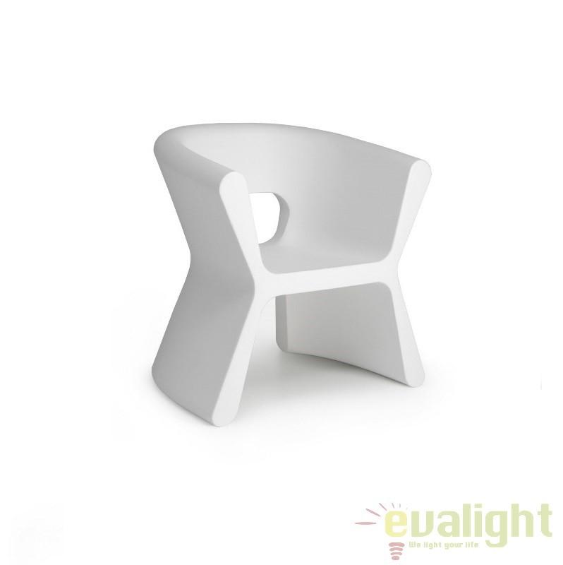 Scaun design modern, exterior, interior, PAL ARMCHAIR 51005-ALB Vondom, Scaune dining , Corpuri de iluminat, lustre, aplice a
