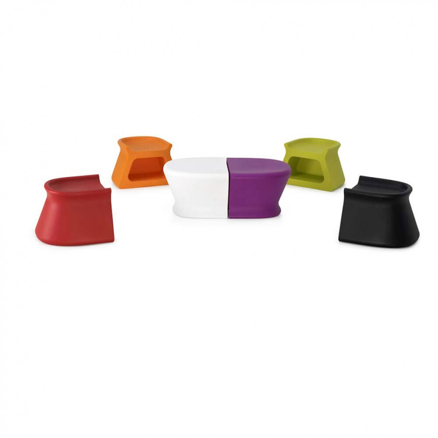 Taburete / Masuta de exterior / interior design modern premium PAL TABLE/STOOL 51006 Vondom,  a