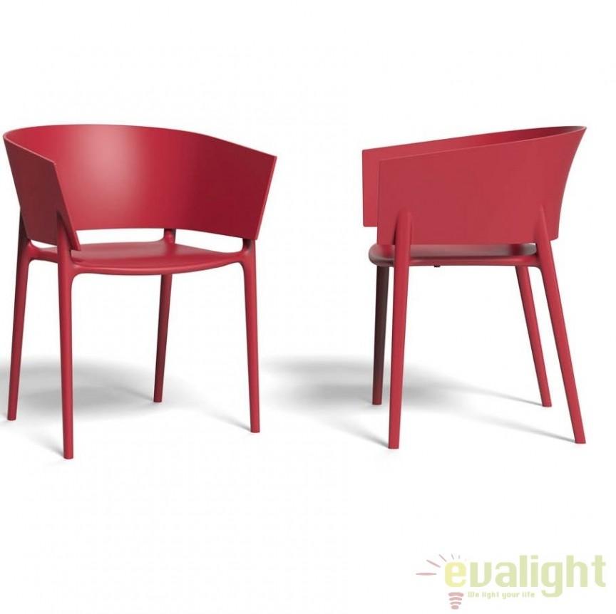 Scaun design modern, exterior, interior, AFRICA CHAIR 65005 Vondom, Scaune dining , Corpuri de iluminat, lustre, aplice a