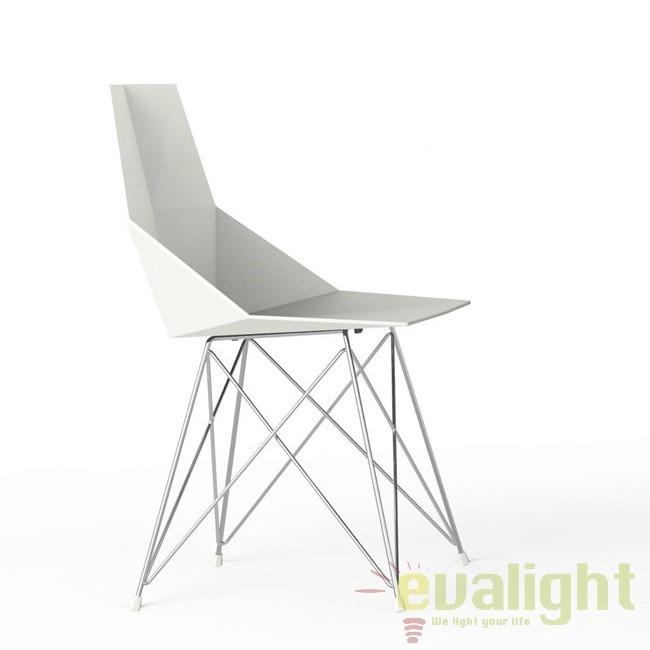 Set de 4 Scaune moderne de exterior / interior design premium FAZ INOX LEGS CHAIR 54044 Vondom,  a