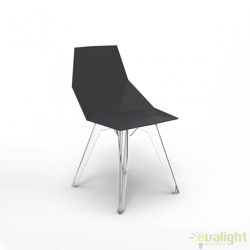 Set de 4 Scaune de exterior / interior design modern premium FAZ CHAIR 54062 Vondom, Magazin,  a