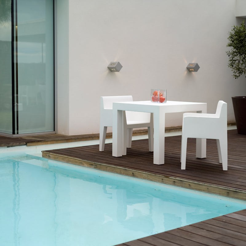 Scaun cu brate de exterior / interior design modern premium JUT ARMCHAIR 44408 Vondom, Magazin,  a