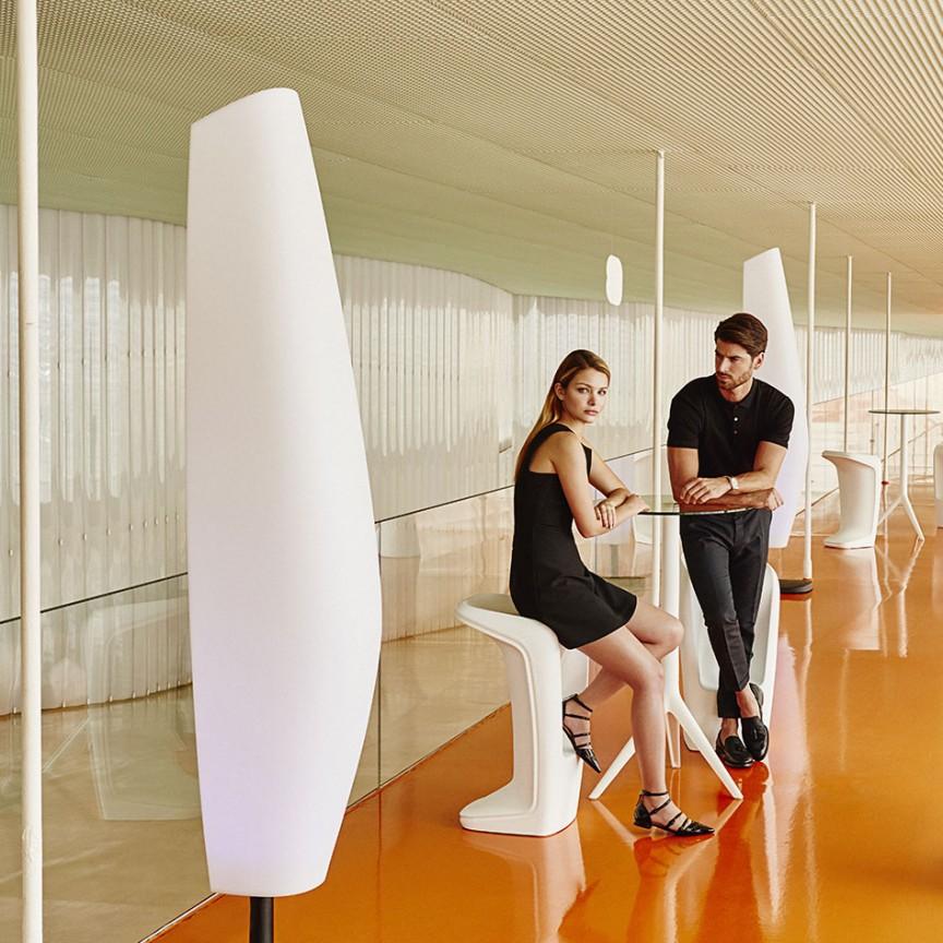 Scaun de bar exterior / interior design modern premium UFO BAR STOOL 63005 Vondom, Magazin,  a