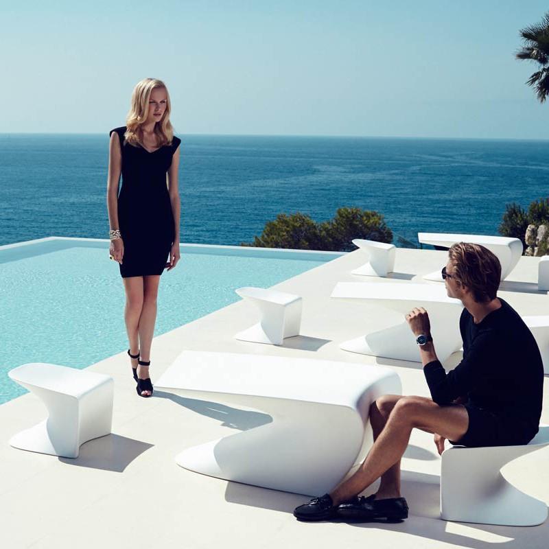 Taburete de exterior / interior design modern premium WING STOOL 53036 Vondom, Magazin,  a
