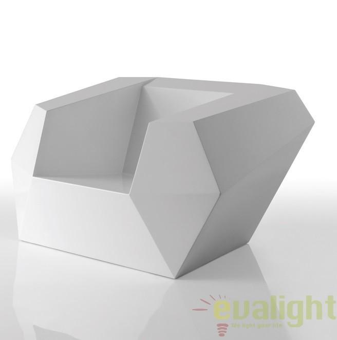 Fotoliu lounge design modern, exterior, interior, FAZ LOUNGE CHAIR 54001 Vondom, Fotolii - Fotolii extensibile, Corpuri de iluminat, lustre, aplice a