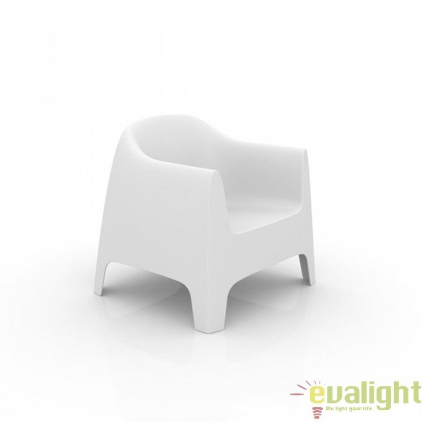Fotoliu lounge design modern, exterior, interior, SOLID LOUNGE CHAIR 55023 Vondom, Fotolii - Fotolii extensibile, Corpuri de iluminat, lustre, aplice a
