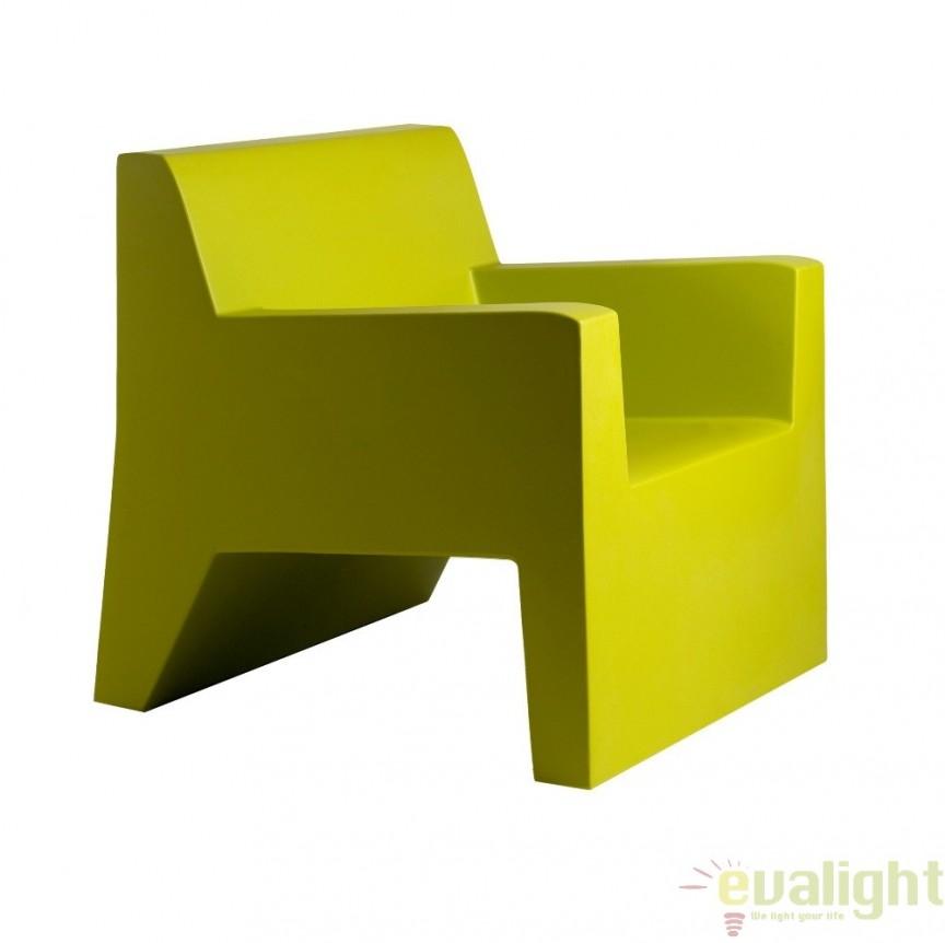 Fotoliu lounge design modern, exterior, interior, JUT LOUNGE CHAIR 44401 Vondom, Fotolii - Fotolii extensibile, Corpuri de iluminat, lustre, aplice a
