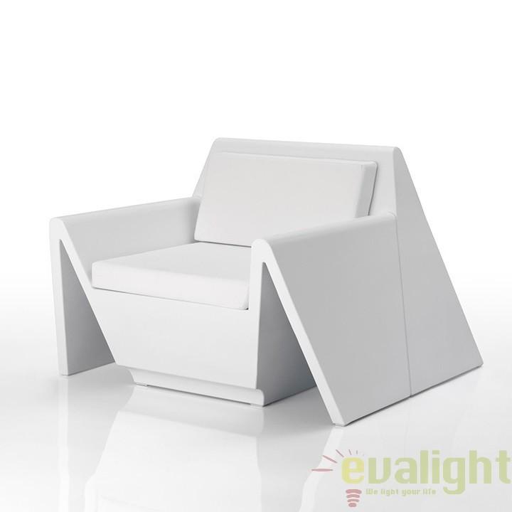 Fotoliu lounge design modern, exterior, interior, REST LOUNGE CHAIR 53001 Vondom, Fotolii - Fotolii extensibile, Corpuri de iluminat, lustre, aplice a