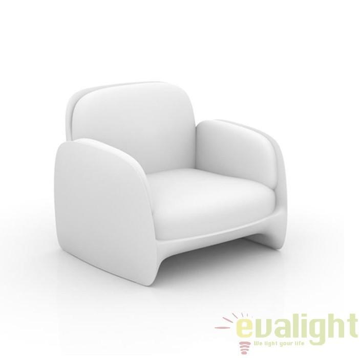 Fotoliu lounge design modern, exterior, interior, PEZZETTINA LOUNGE CHAIR 56010 Vondom, Fotolii - Fotolii extensibile, Corpuri de iluminat, lustre, aplice a