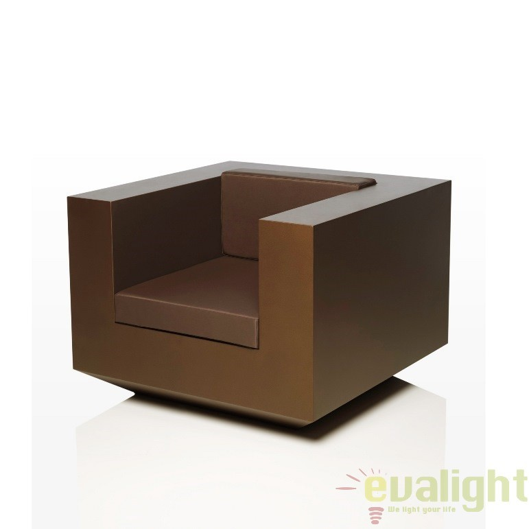 Fotoliu lounge design modern, exterior, interior, VELA LOUNGE CHAIR 54023 Vondom, Fotolii - Fotolii extensibile, Corpuri de iluminat, lustre, aplice a