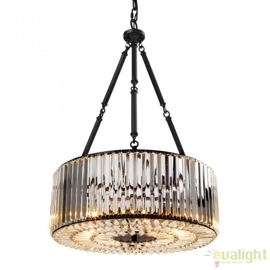 Lustra, Candelabru LUX diam.53cm, Infinity 109207 HZ, Candelabre, Lustre moderne, Corpuri de iluminat, lustre, aplice a