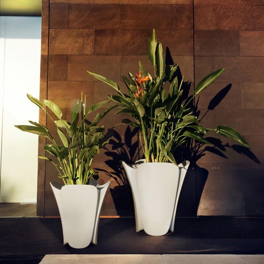 Ghiveci flori / Jardiniera plante de exterior / interior design modern premium PEZZETTINA PLANTER 50x50x50 56006R Vondom,  a