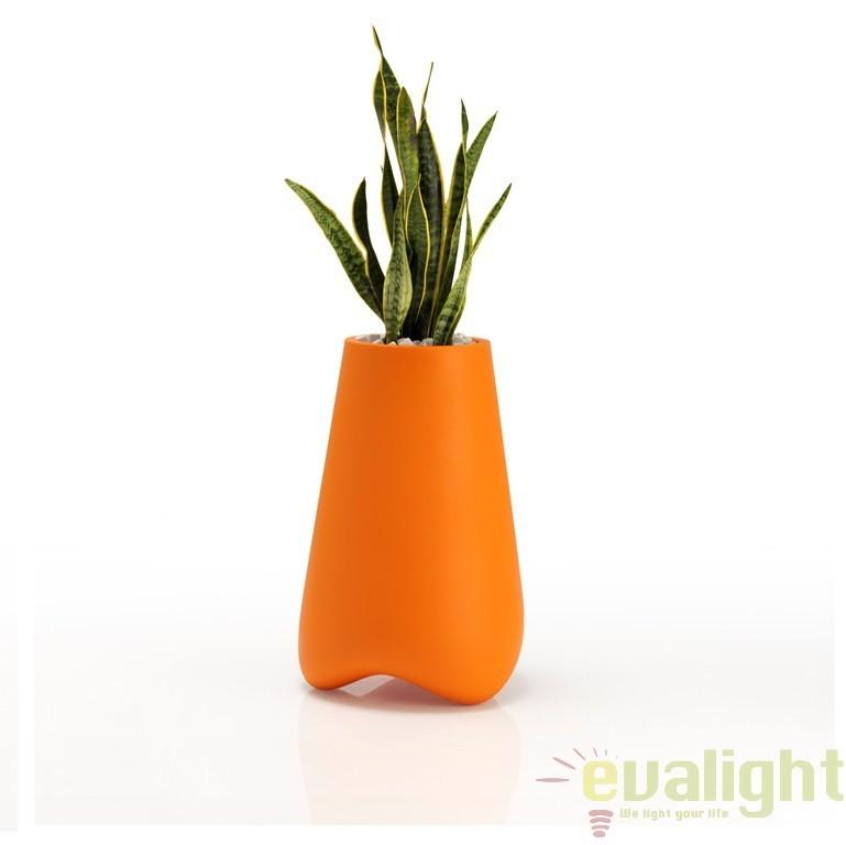 Ghiveci plante, Vaza de flori design decorativ modern pentru amenajari interioare si exterioare, VLEK NANO PLANTER 51016A Vondom, Mobila si Decoratiuni,  a