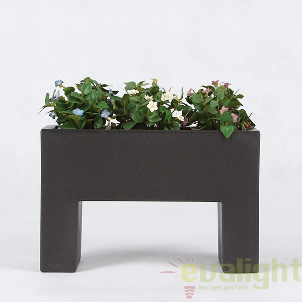 Ghiveci flori design decorativ modern pentru amenajari interioare si exterioare, NANO MURO 42608F Vondom, Mobila si Decoratiuni,  a