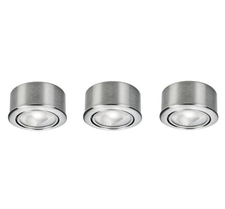Set 3 spoturi mobila de bucatarie Piccolo 1 87047 EL, Spoturi incastrate, aplicate - tavan / perete, Corpuri de iluminat, lustre, aplice a