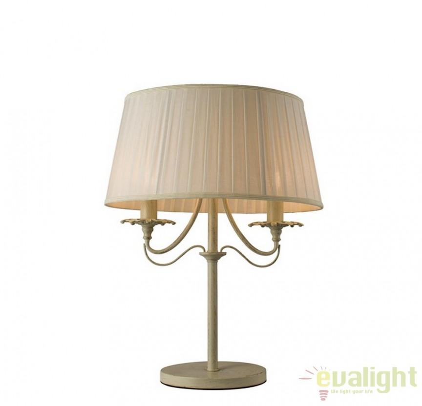 Veioza, lampa de masa eleganta Chester 60762 EN, PROMOTII, Corpuri de iluminat, lustre, aplice, veioze, lampadare, plafoniere. Mobilier si decoratiuni, oglinzi, scaune, fotolii. Oferte speciale iluminat interior si exterior. Livram in toata tara.  a