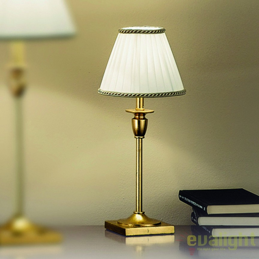 Veioza lampa de masa Britta small LA 4-1048/1 Antik-Gold OR, Candelabre si Lustre moderne elegante⭐ modele clasice de lux pentru living, bucatarie si dormitor.✅ DeSiGn actual Top 2020!❤️Promotii lampi❗ ➽ www.evalight.ro. Oferte corpuri de iluminat suspendate pt camere de interior (înalte), suspensii (lungi) de tip lustre si candelabre, pendule decorative stil modern, clasic, rustic, baroc, scandinav, retro sau vintage, aplicate pe perete sau de tavan, cu cristale, abajur din material textil, lemn, metal, sticla, bec Edison sau LED, ieftine de calitate deosebita la cel mai bun pret. a