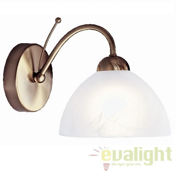 Aplica de perete cu 1 brat MILANESE 1131-1AB SRT, Aplice de perete clasice, Corpuri de iluminat, lustre, aplice a