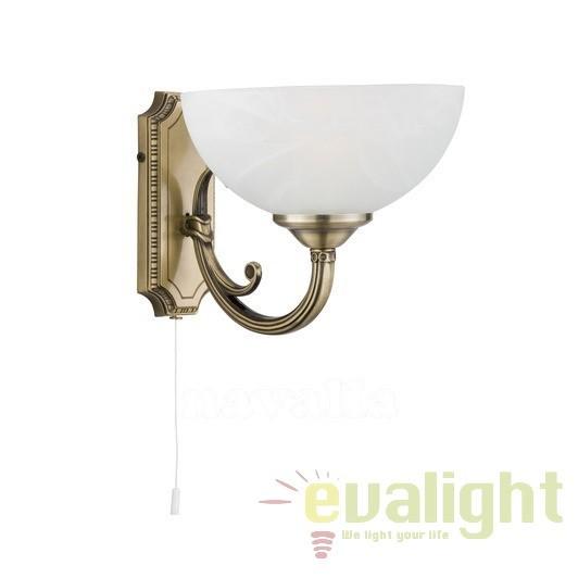 Aplica de perete cu 1 brat WINDSOR 1131-1AB SRT, Aplice de perete clasice, Corpuri de iluminat, lustre, aplice a