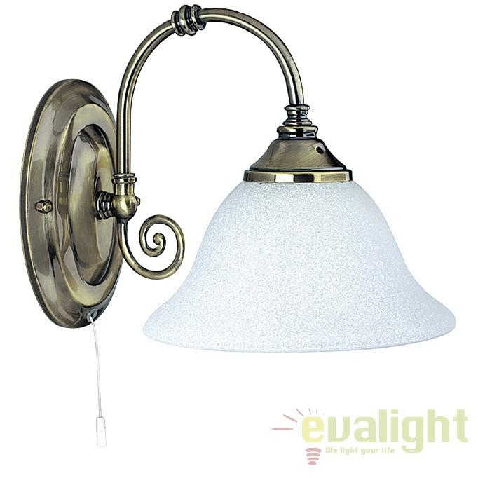 Aplica de perete Clasic VIRGINIA 9351-1 SRT, Aplice de perete clasice, Corpuri de iluminat, lustre, aplice a