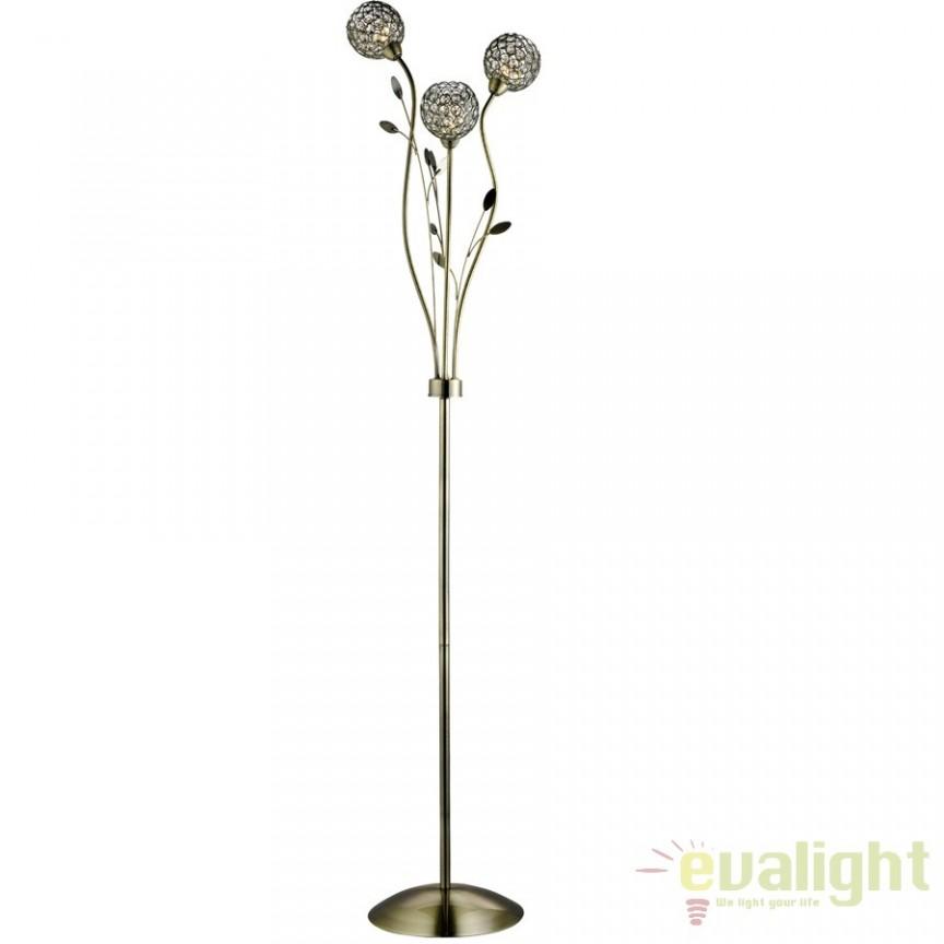 Lampadar, lampa de podea BELLIS 2 3573AB SRT, Lampadare clasice, Corpuri de iluminat, lustre, aplice a