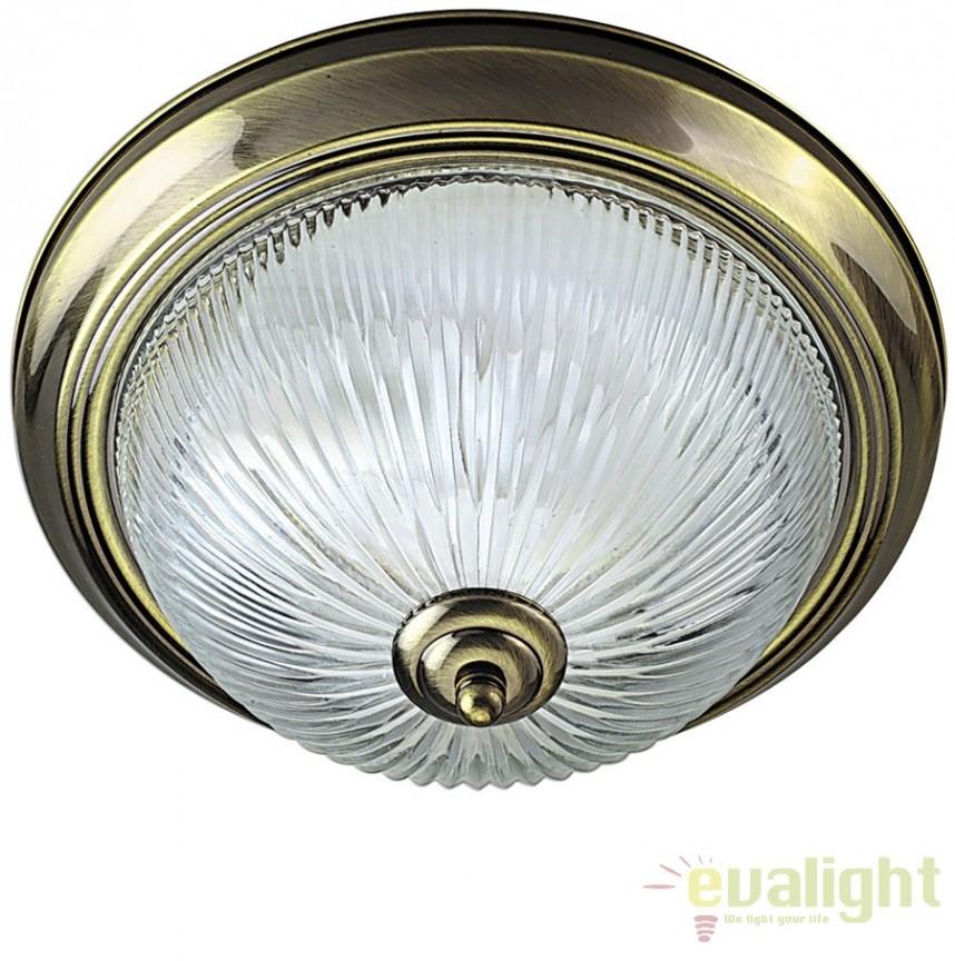 Plafoniera clasica diametru 30cm FLUSH 4370 SRT, Lustre aplicate, Plafoniere clasice, Corpuri de iluminat, lustre, aplice a