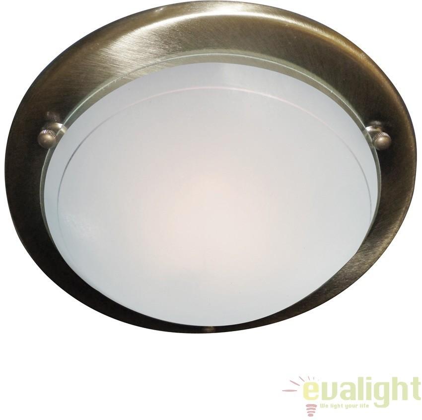 Plafoniera clasica diametru 30cm JUPITER 702AB SRT, Lustre aplicate, Plafoniere clasice, Corpuri de iluminat, lustre, aplice a